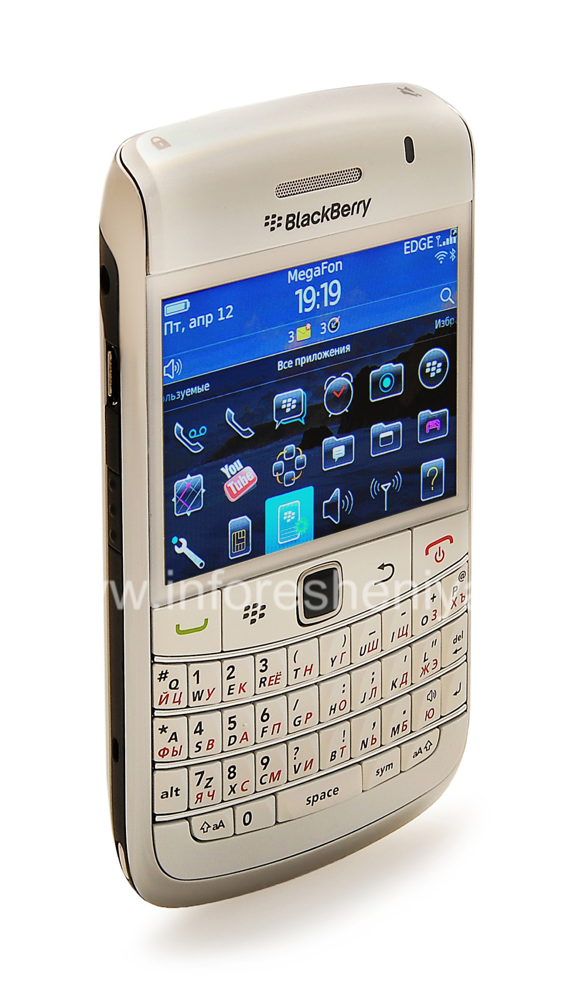buy smartphone blackberry 9700 bold pearl white. Black Bedroom Furniture Sets. Home Design Ideas