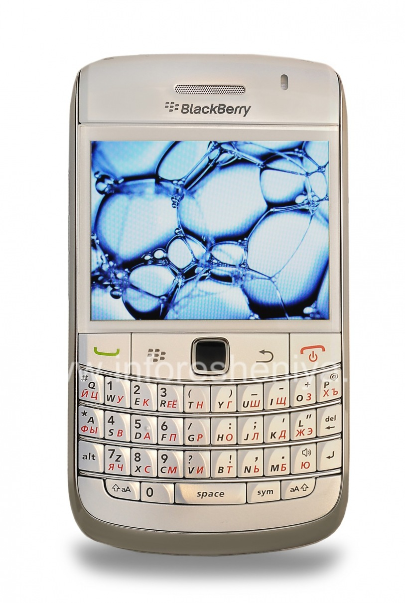 ... Photo 17 — Smartphone BlackBerry 9700 Bold, Pearl White ...