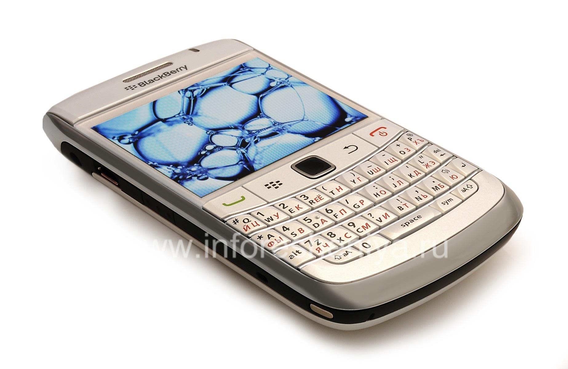 ... Photo 18 — Smartphone BlackBerry 9700 Bold, Pearl White ...