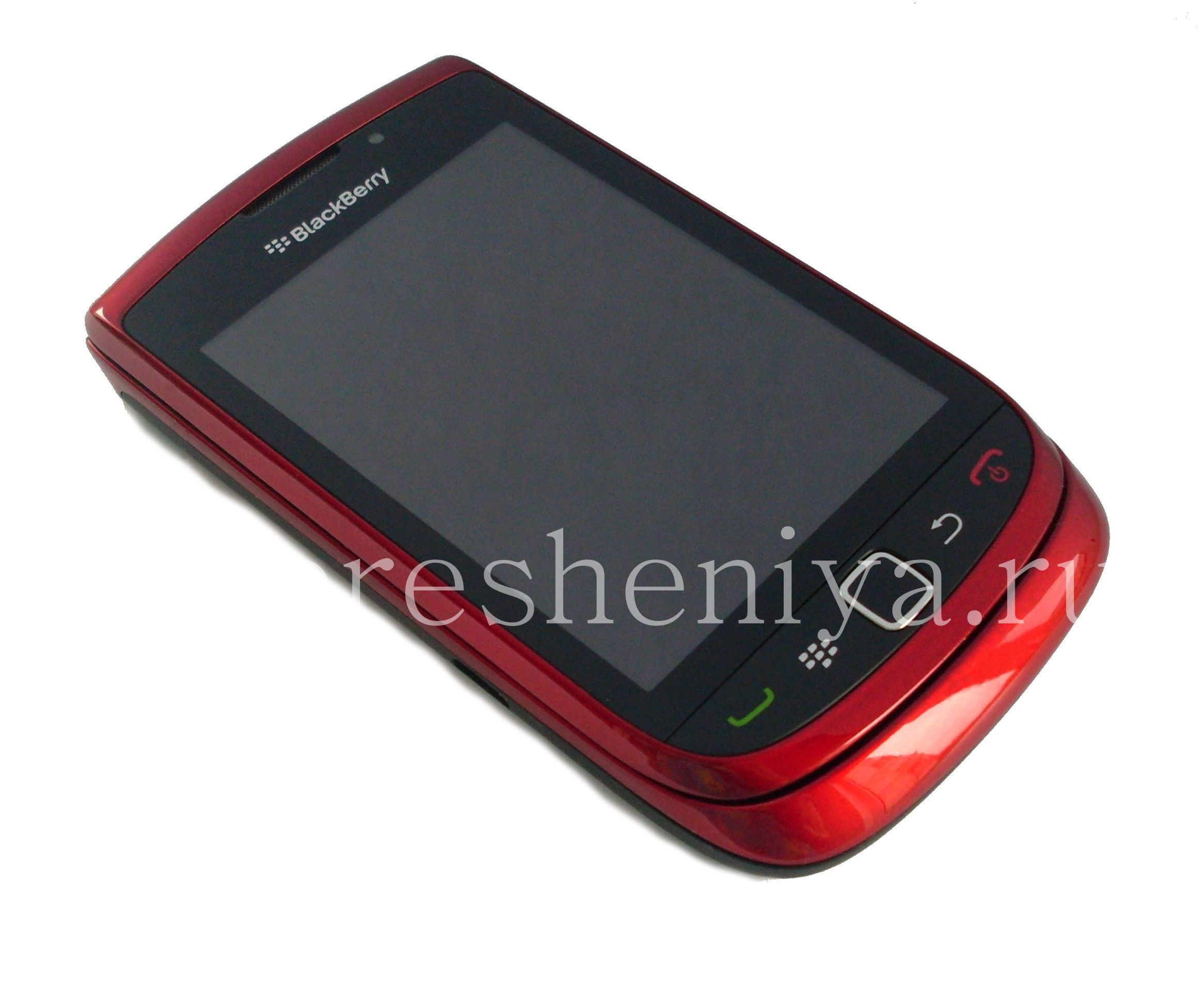 how to turn on blackberry torch