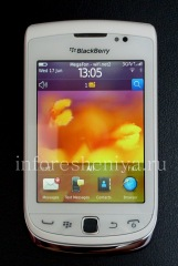 Buy Smartphone BlackBerry 9810 Torch, Caucasien (Blanc)