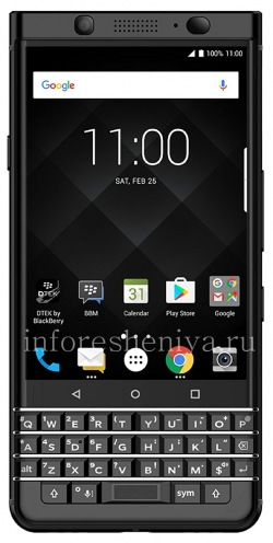 Купить Смартфон BlackBerry KEYone Limited Black Edition