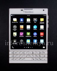 Buy Smartphone BlackBerry Passport, Caucasien (Blanc)