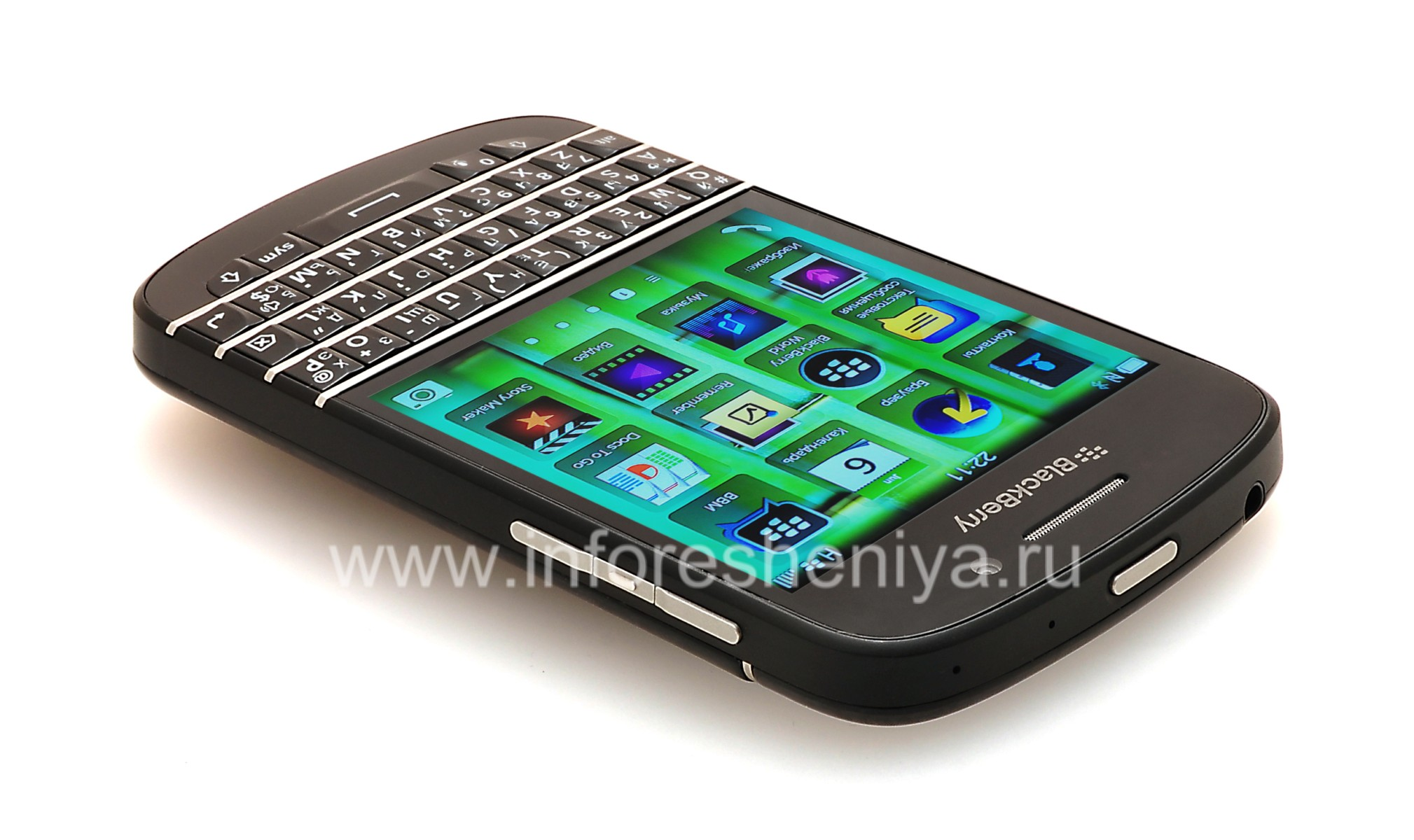 Buy Smartphone Blackberry Q10 Black Everything For
