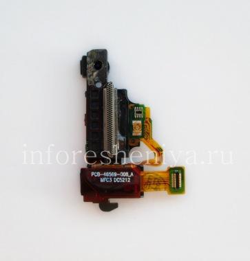 Купить Аудио-разъем (Headset Jack) T13 в сборке с датчиком близости/ освещенности и кнопкой блокировки для BlackBerry Z10/ 9982