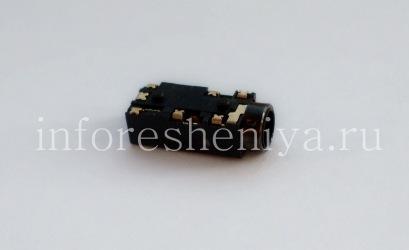 Audio-Buchse (Headset-Buchse) T14 für Blackberry, schwarz