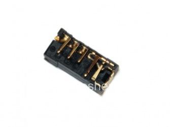 Audio-Buchse (Headset-Buchse) T4 für Blackberry, Schwarz