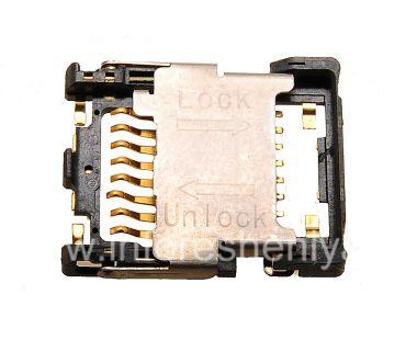 Купить Слот карты памяти (Memory Card Slot) T1 для BlackBerry