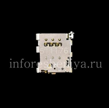 Купить Разъем для сим-карты (SIM-card Connector) T13 для BlackBerry