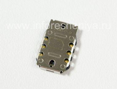 Купить Разъем для сим-карты (SIM-card Connector) T1 для BlackBerry