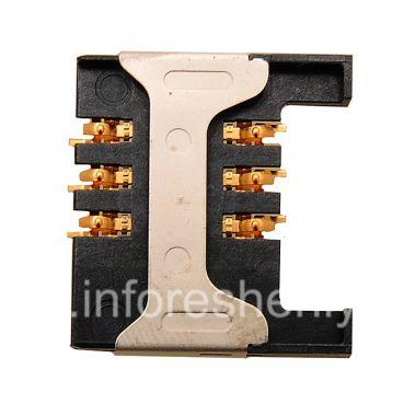 Купить Разъем для сим-карты (SIM-card Connector) T2 для BlackBerry