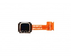 Trackpad (trackpad) HDW-59871-001 pour BlackBerry * Classic, Noir avec garniture argent