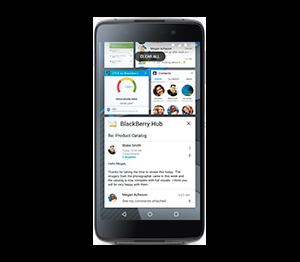 BlackBerry DTEK50: поддержка карт памяти