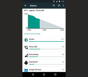 BlackBerry Priv: долгое время работы без подзарядки
