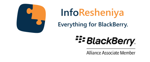 InfoResheniya — BlackBerry Associate Member: BlackBerry solutions for individuals and businesses. Repair, services, smartphones & accessories.