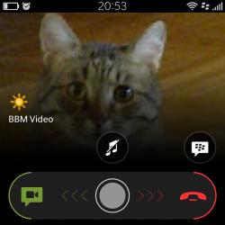 BBM Voice — бесплатные видеозвонки по WiFi