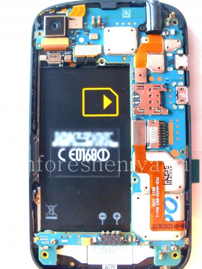 Instructions for dismantling BlackBerry Q10 — Everything for