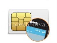 BlackBerry用SIMカードの登録