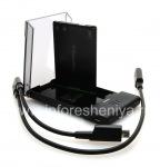 charger asli untuk J-M1 Baterai lengkap dengan baterai J-Series Ekstra Baterai Charger Bundle untuk BlackBerry, hitam