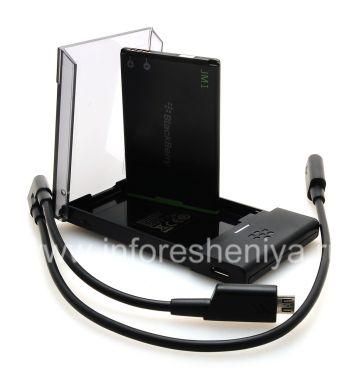 Купить Оригинальное зарядное устройство для аккумулятора J-M1 в комплекте с аккумулятором J-Series Extra Battery Charger Bundle для BlackBerry