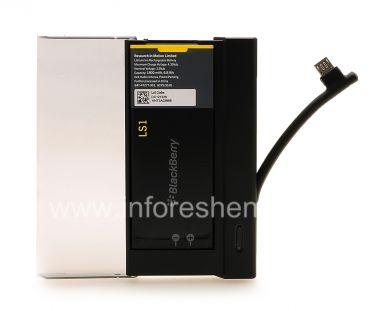Купить Оригинальное зарядное устройство для аккумулятора L-S1 в комплекте с аккумулятором Battery Charger Bundle для BlackBerry Z10