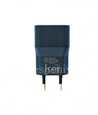 Купить Оригинальное сетевое зарядное устройство повышенной силы тока 1300mA типа Евро для BlackBerry