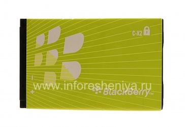 Оригинальный аккумулятор C-X2 для BlackBerry, Зеленый
