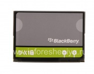 Original Battery D-X1 for BlackBerry, Grey / Green
