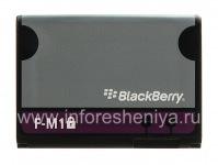 Оригинальный аккумулятор F-M1 для BlackBerry, Серый/Фиолетовый