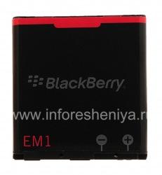 Оригинальный аккумулятор E-M1 для BlackBerry, Черный