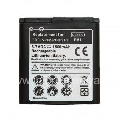 Аккумулятор E-M1 (копия) для BlackBerry, Черный