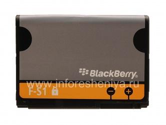 Аккумулятор F-S1 (копия) для BlackBerry, Серый/Оранжевый