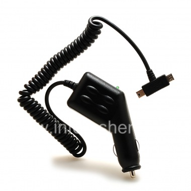 Buy 独家车载充电器,带两个接口:MicroUSB数据和对的MiniUSB BlackBerry