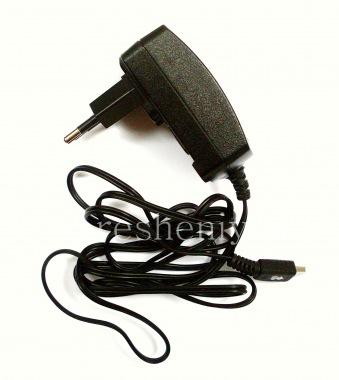 Купить Оригинальное сетевое зарядное устройство 700mA с разъемом MiniUSB для BlackBerry