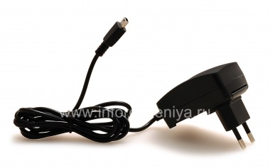 Купить Оригинальное сетевое зарядное устройство с разъемом MiniUSB для BlackBerry