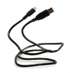 Datos MicroUSB cable original para BlackBerry, Negro